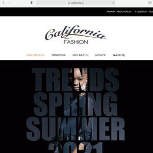 Nova spletna trgovina California.si